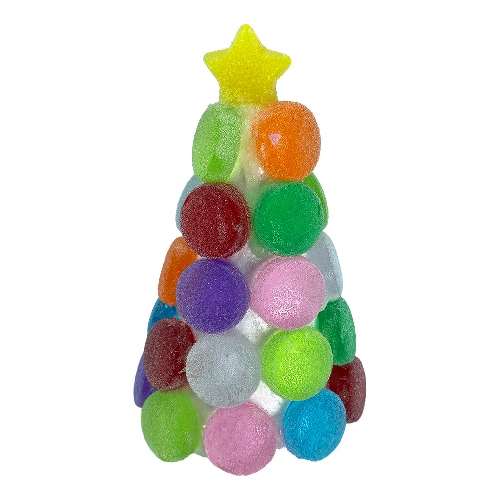 Decorazioni Natalizie Con Il Polistirolo.Albero Di Natale In Polistirolo Con Caramelle H 14 Cm Il Villaggio Di Babbo Natale